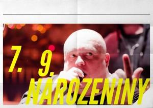 Slavíme 7.9. na parníku na Vltavě!